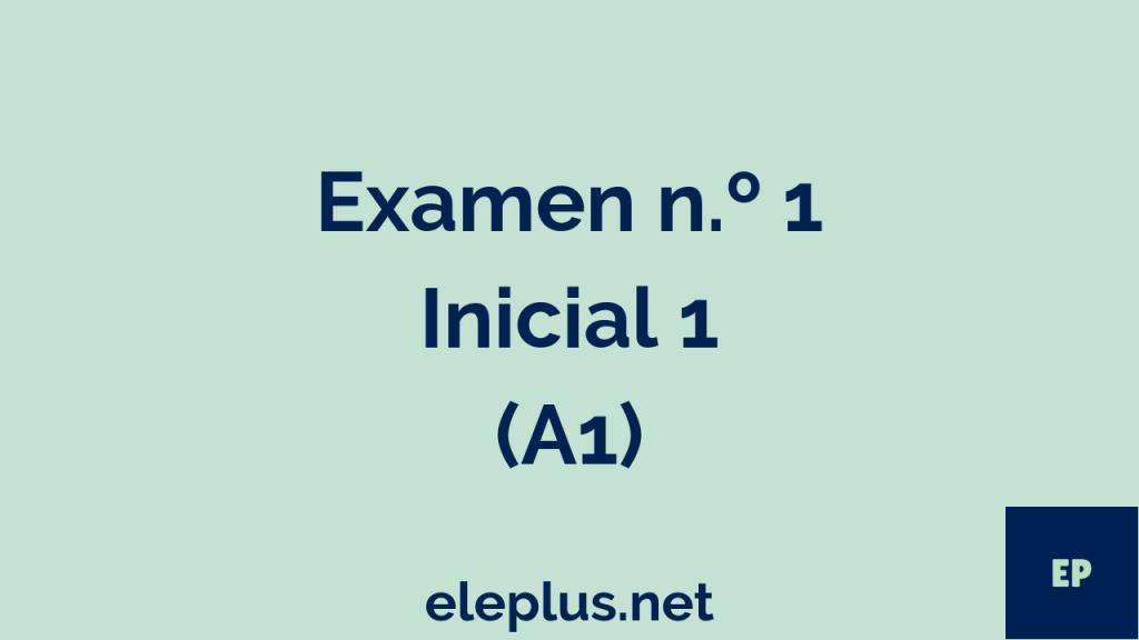 Examen A1 nº1